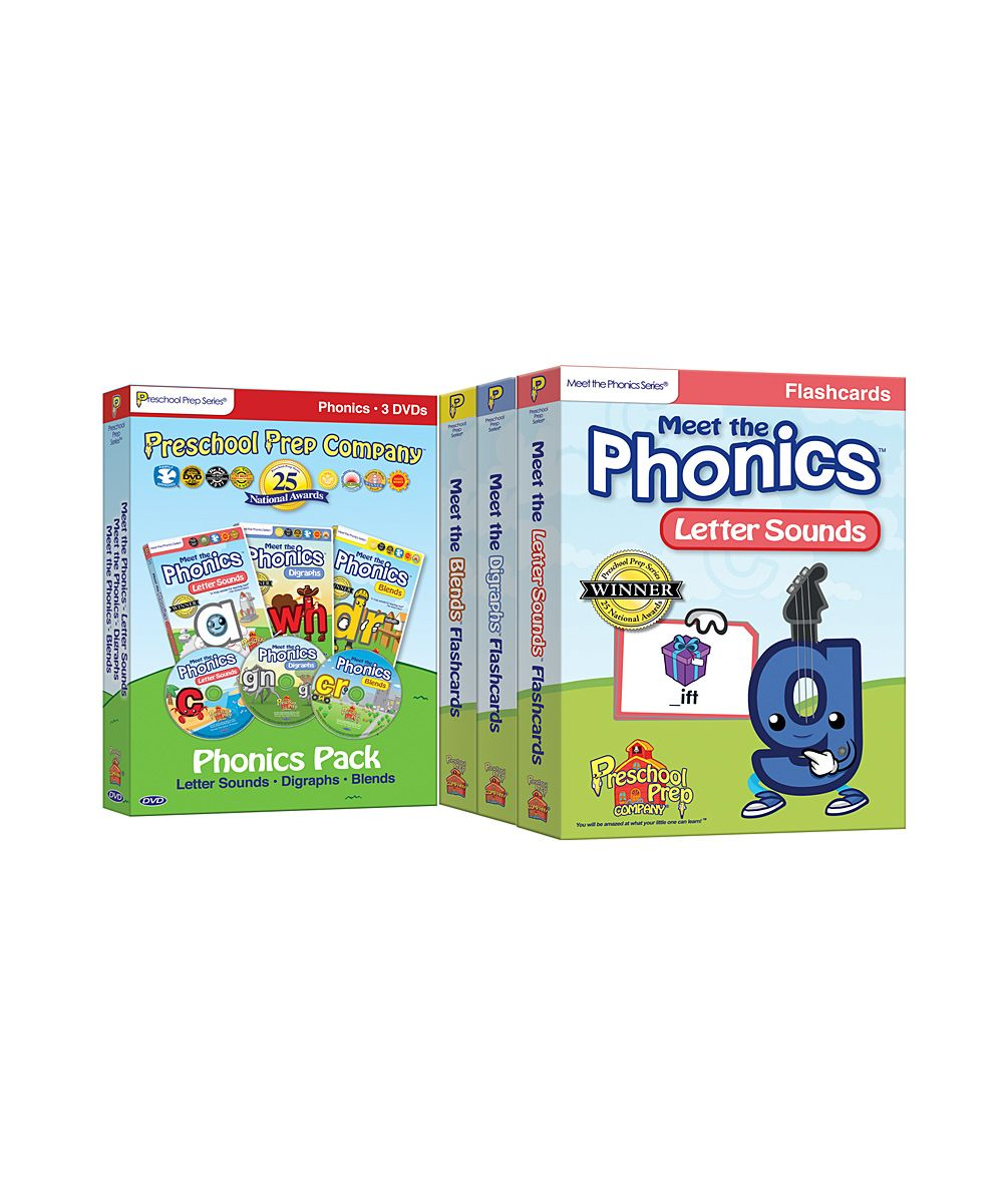Meet the Phonics DVD & Flash Card Set | Baby Products | Pinterest ...