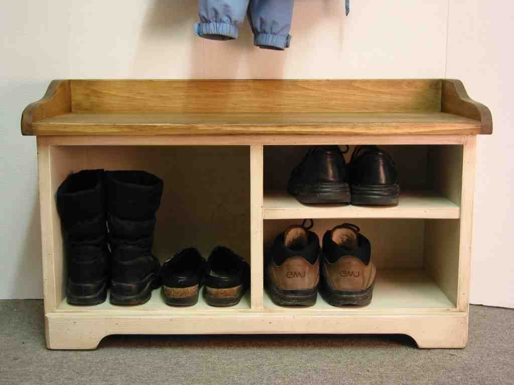 Entrance Bench with Shoe Storage | Shoe Storage Bench | Pinterest