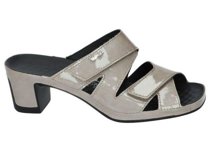 Vital 132954 JOY slipper - muiltje taupe - damesschoenen | Schoenen Karo