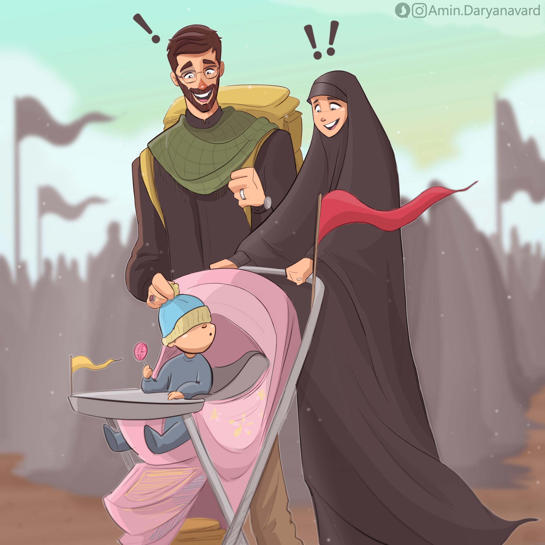 Pin By Amir On Mobile File Print Islamic Cartoon Anime Muslim Cute Muslim Couples