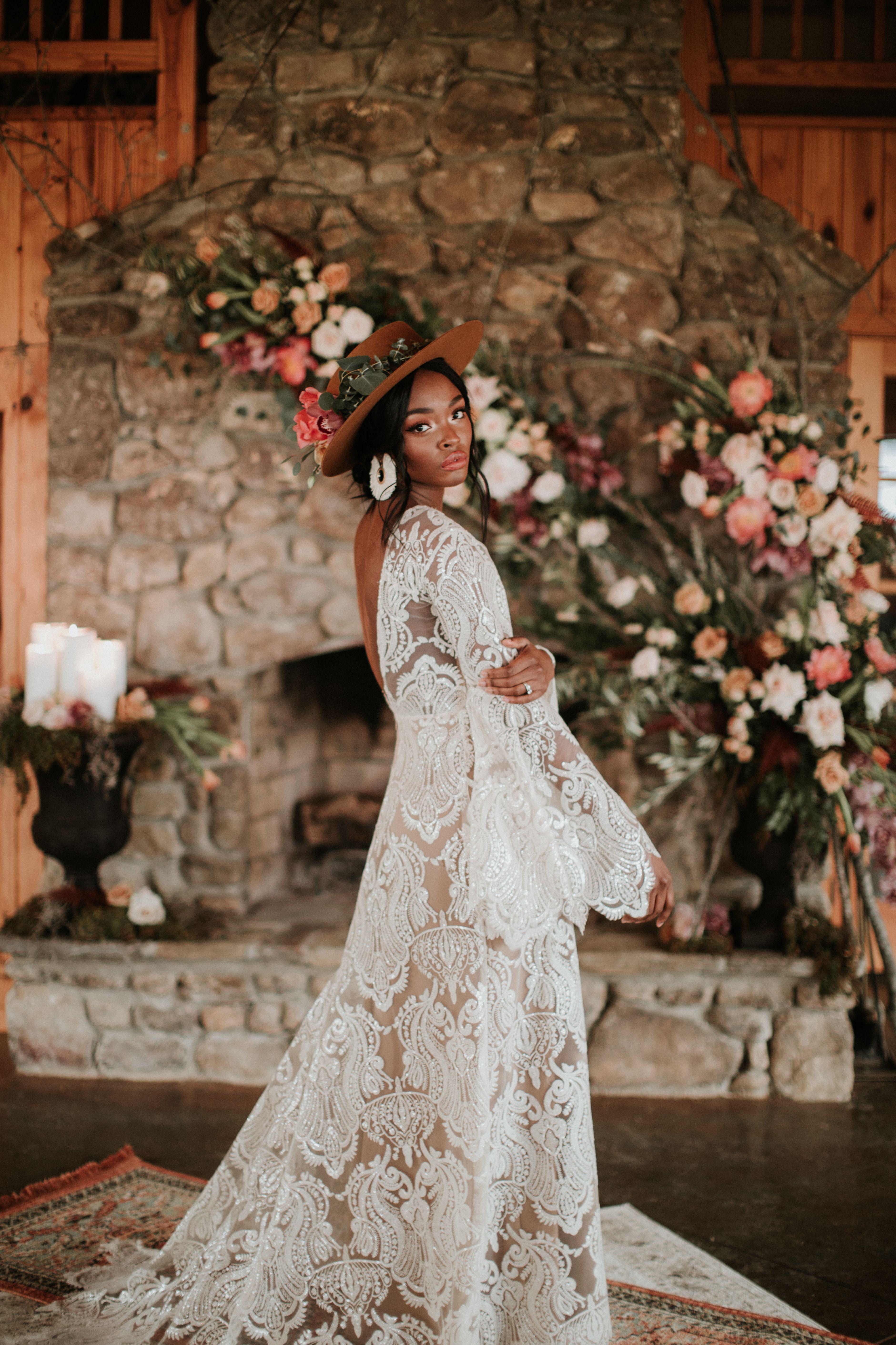 Pin On Boho Hair,Mermaid Lace Corset Wedding Dress