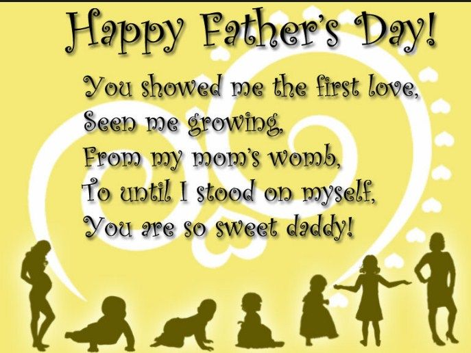 Fathers Day Sayings For Daughter In Law   Fathers Day Images Fathers Day  Quotes Sayings From Son And Daughter For Cards, Fathers Day Printable  Picture