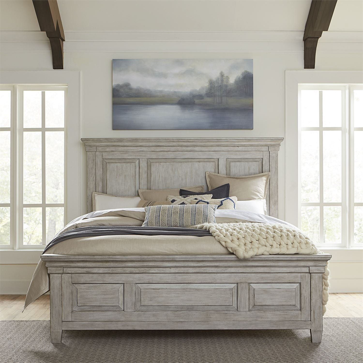Pin By Delsy E On Bed Frame Ideas In 2020 White King Panel Bed