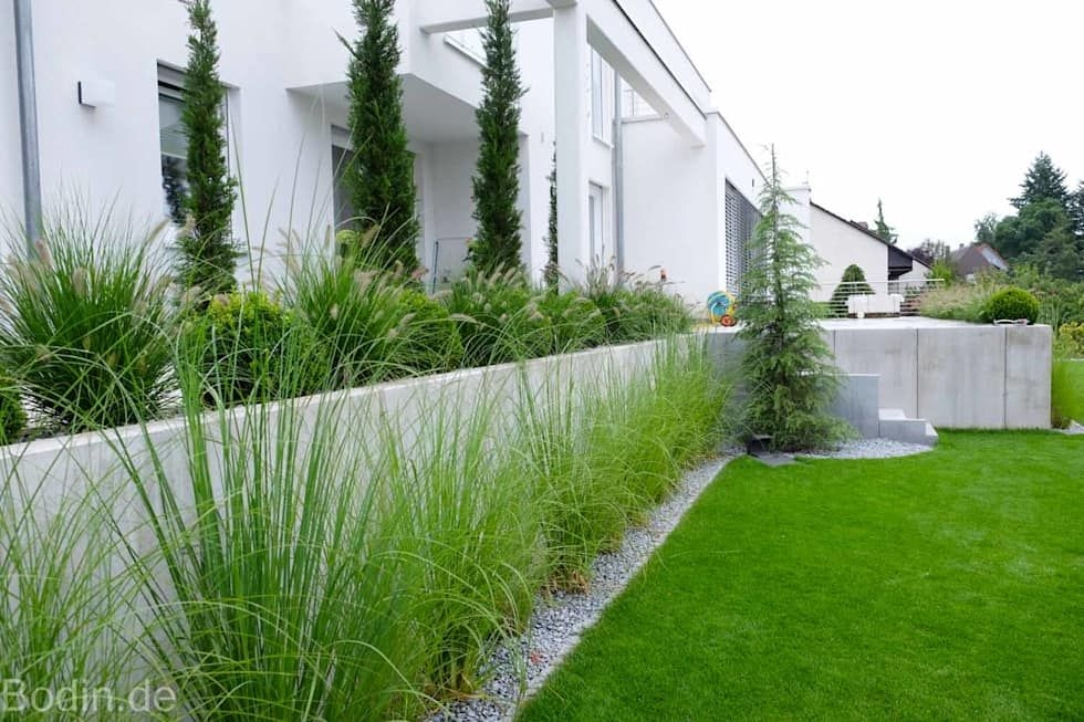 Garten Bauhausstil wohnideen interior design einrichtungsideen bilder