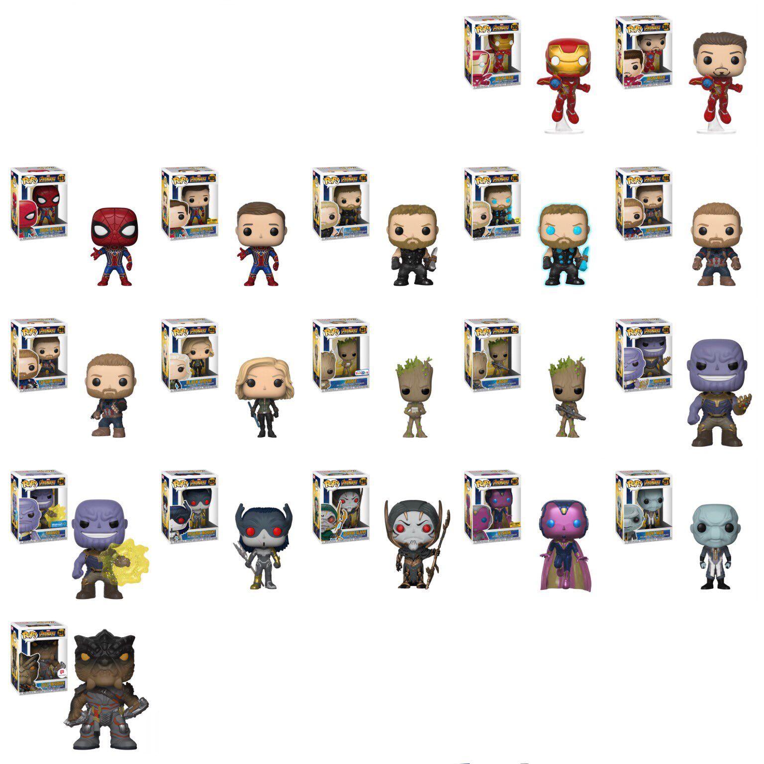 Avengers Infinity War Pop Funko Funko Pop Avengers Marvel Infinity War Funko