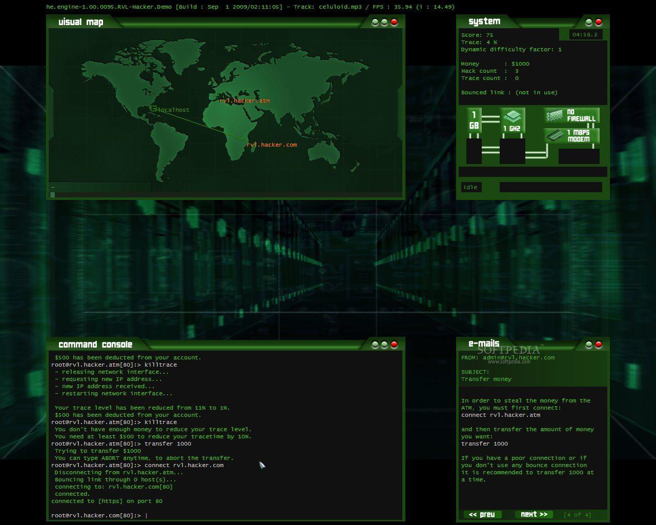 Image Gallery Hacking Screens