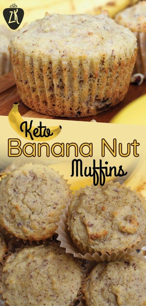 Keto Banana Nut Muffins | A Perfect Breakfast Muffin – Liv Breathe Keto #ketobreakfast