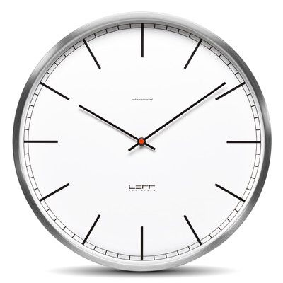 One35 13 78 Stainless Steel Wall Clock Wall Clock Contemporary Wall Clock Wall Clock Online