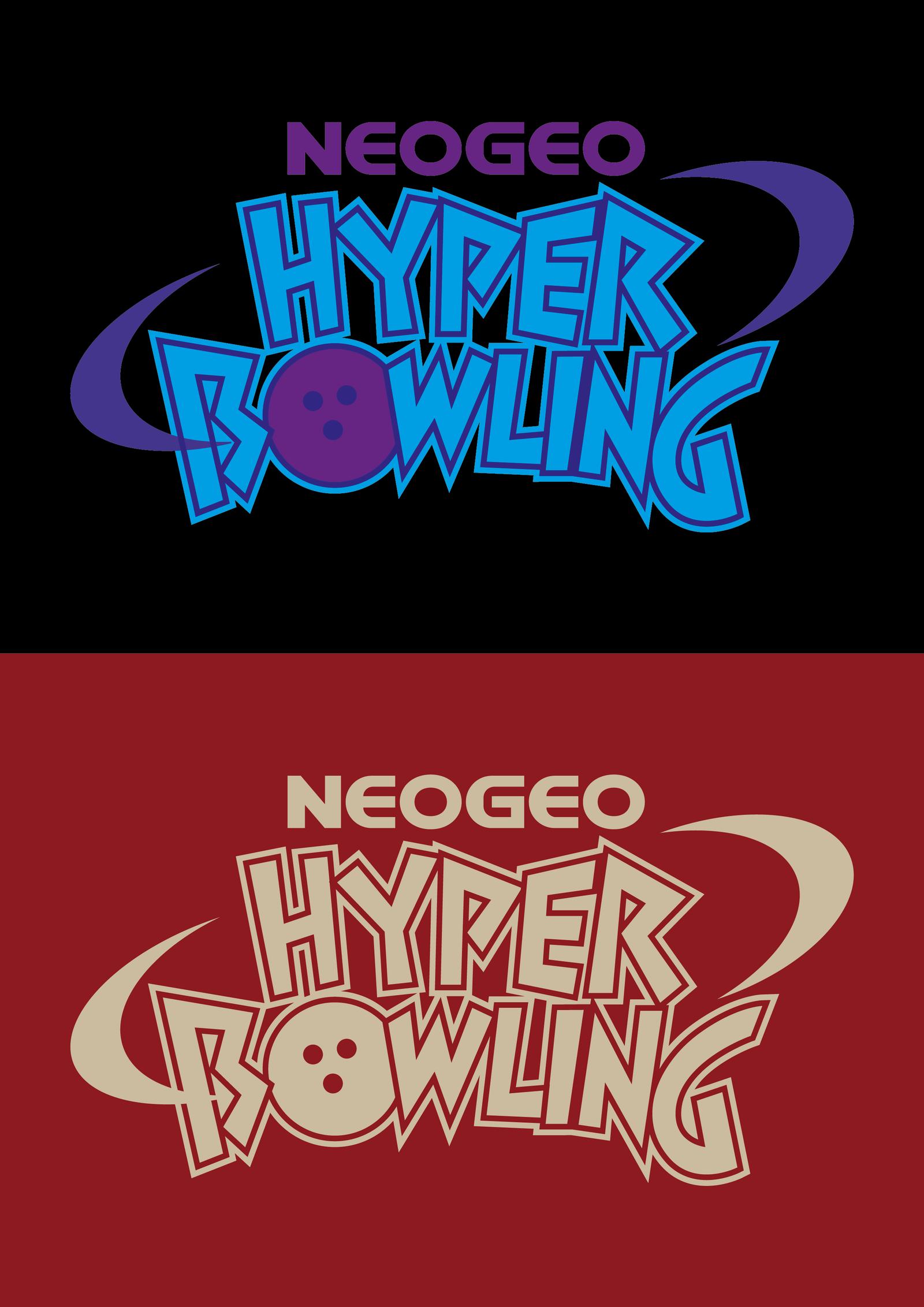 SNK NEO GEO Hyper Bowling Vector Logo by Alex Schütz aka