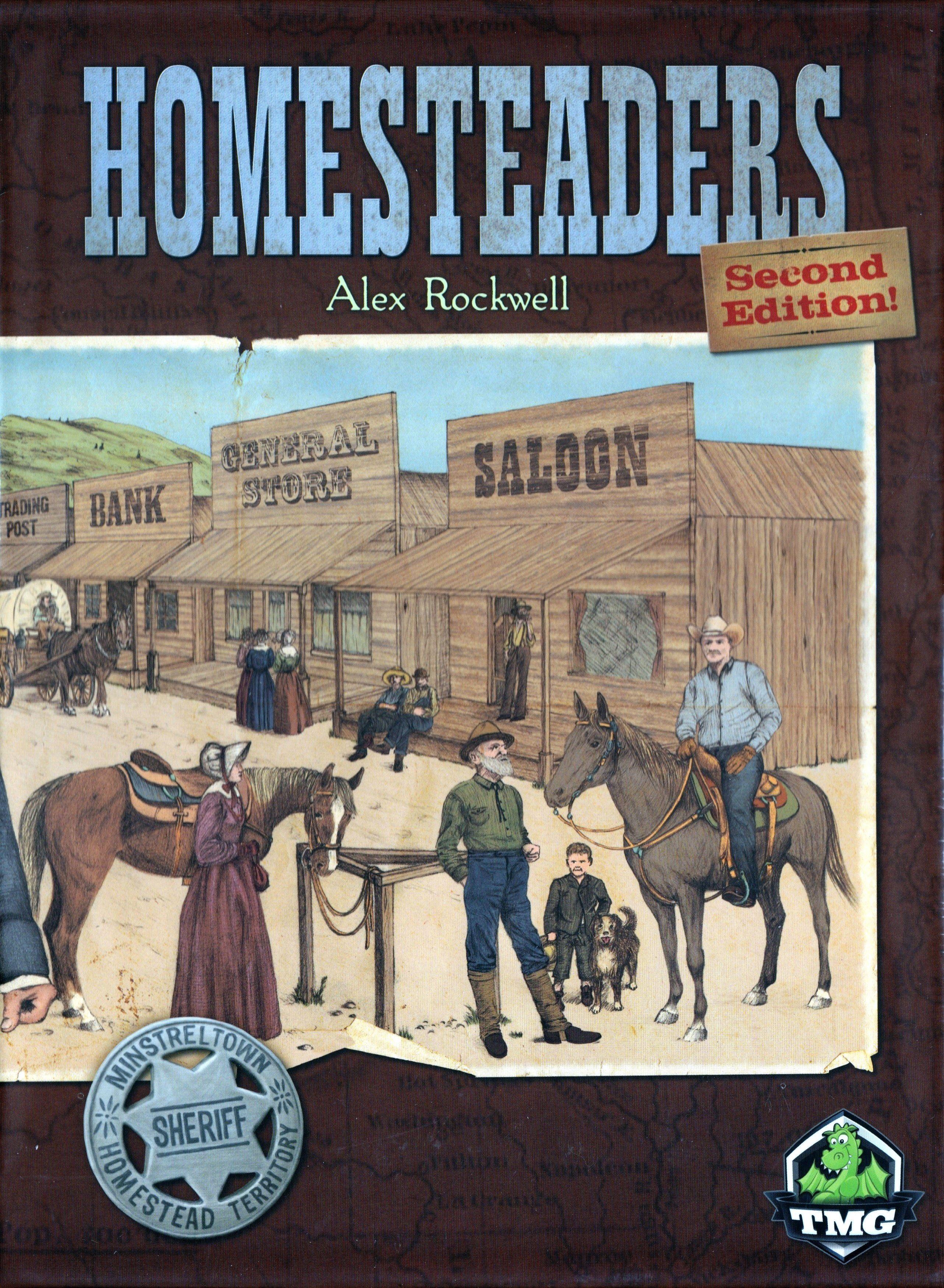 Homesteaders Favorite board games, Board games