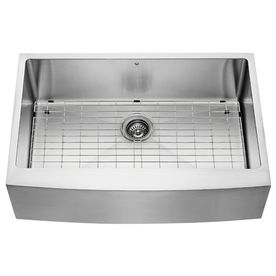 33 In X 22 25 In Stainless Steel Single Basin Apron Front Farmhouse Kitchen S Stainless Steel Apron Stainless Steel Kitchen Sink Stainless Steel Farmhouse Sink