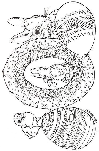 Easter Eggs Coloring Sheet Is An Easy Easter Craft Kids Can Have Fun