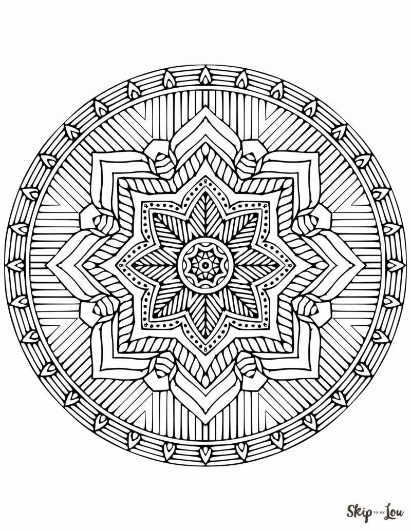 Beautiful Free Mandala Coloring Pages Geometric Coloring Pages Mandala Coloring Pages Mandala Coloring Books
