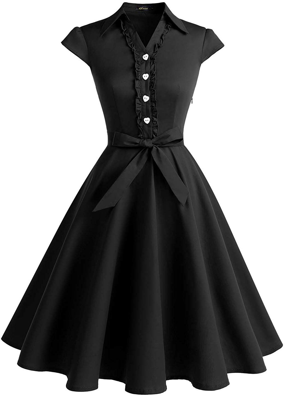 Amazon Com Wedtrend Women S 1950s Cap Sleeves Swing Vintage Party Dresses Multi Colored Wtp10007arm Womens Vintage Dresses Vintage Dresses Vintage Swing Dress [ 1450 x 1042 Pixel ]