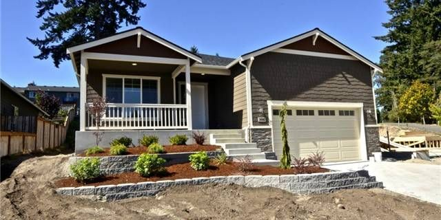 The Willows at Lake Louise is a treasure in one of the most desirable areas of Lakewood.Lake Louise is a public lake w/access at near the 300+ acres of trails and parks at Ft Steilacoom.RAMBLER w/3 bedrooms, an office 2 full bathrooms and a 2 car garage.The custom touches that take this plan over the top include hardwood floors in the kitchen,dining and family rm,stainless appliances, slab granite counters and full height tile backsplash. ALMOST COMPLETE GO SHOW