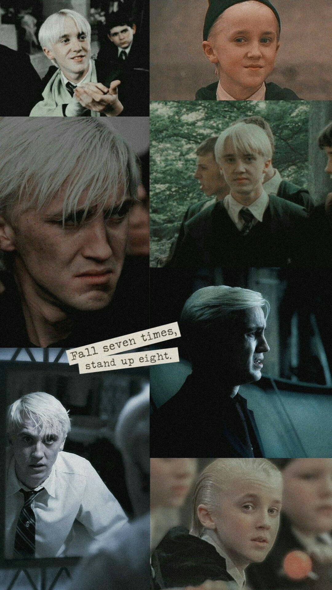 Draco Malfoy Collage Wallpaper Koreasoft In 2020 Harry Potter Draco Malfoy Draco Malfoy Aesthetic Draco Harry Potter