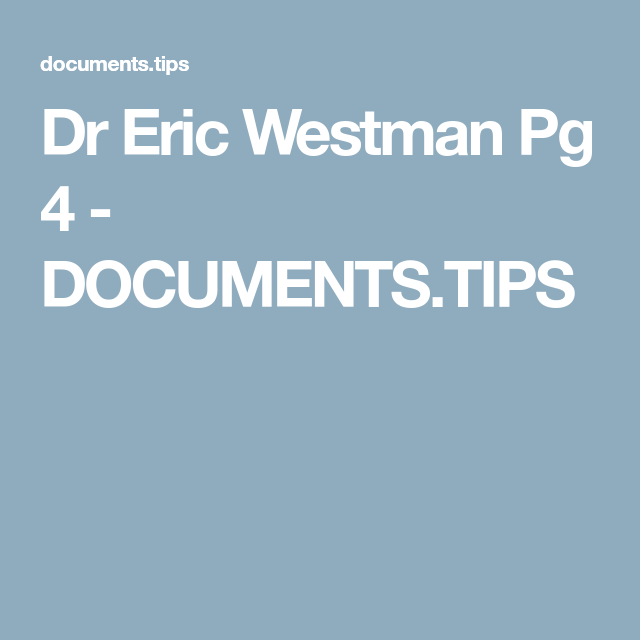 page 4 of low carb diet westman