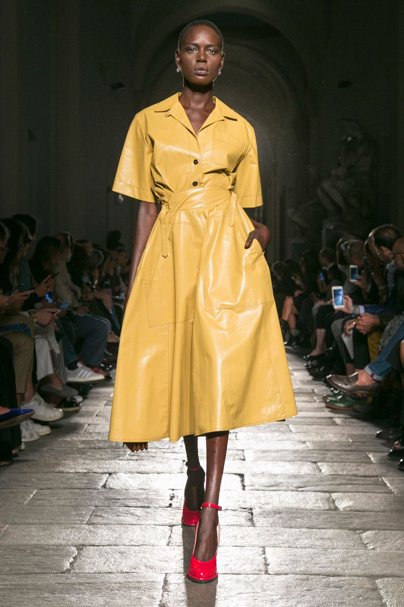 3709a19ff43b Tomas Maier presents his spring 2017 collection for the label
