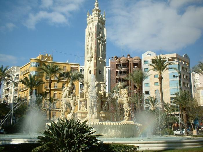 Plaza de los Luceros Alicante