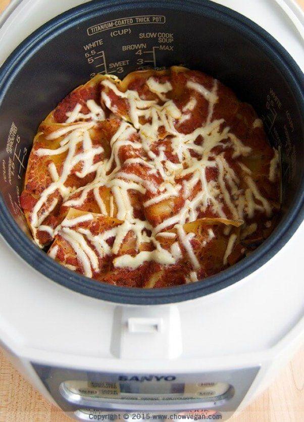 13 Vegan Rice Cooker Recipes That Aren T Just Rice Peta Rice Cooker Recipes Aroma Rice Cooker Cooker Recipes