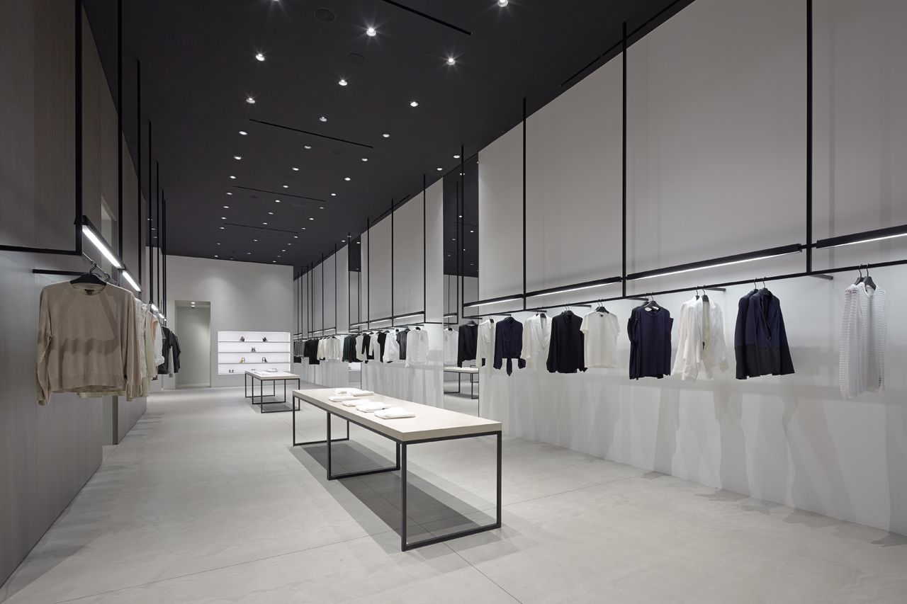 Black clothing store