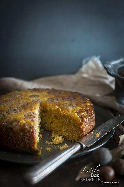 Caramelised Banana Cake | Little Box Brownie