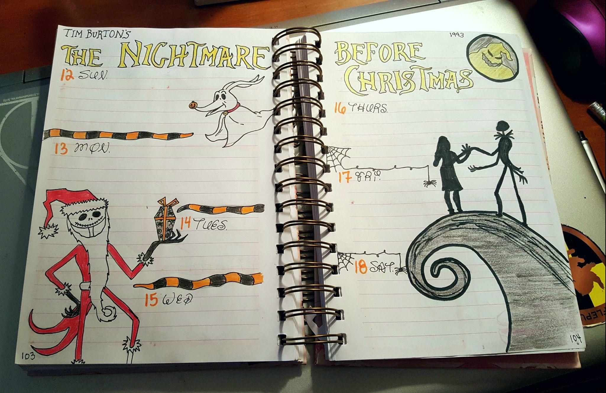 Creative Inspiration: Tim Burton\'s The Nightmare Before Christmas ...