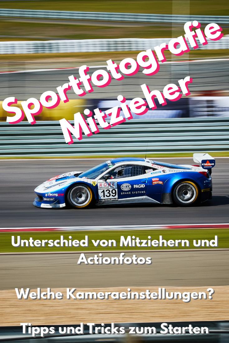 Sportfotografie - Mitzieher & Eingefrorene Bilder #tippsundtricks