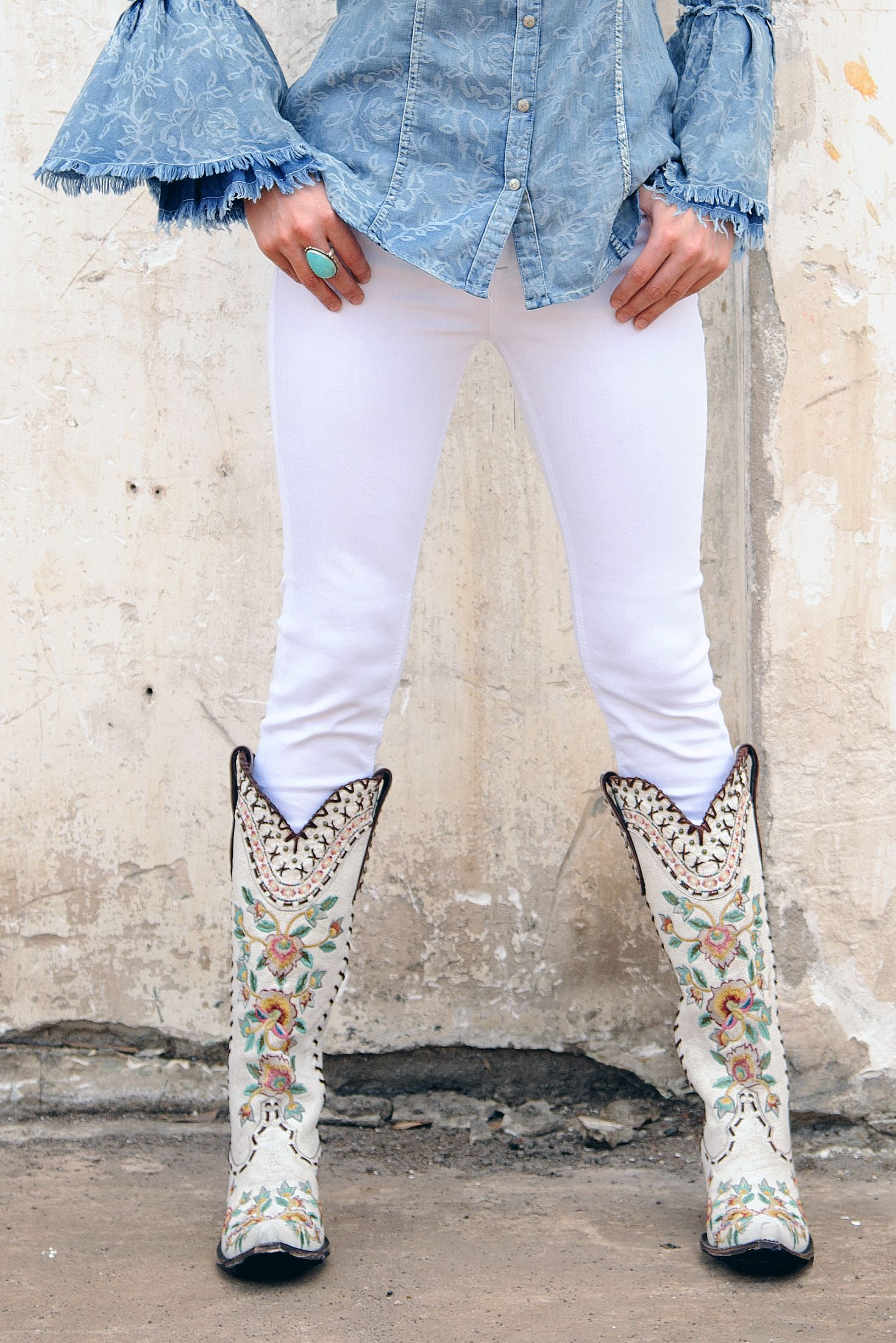 leather and exotic cowboy boots