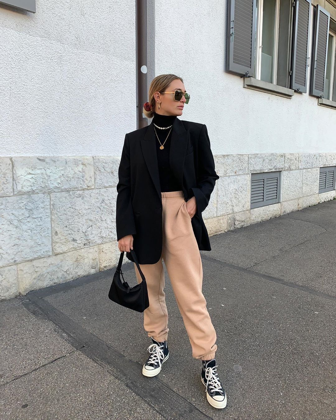 Sweatpants But Make it Fashion | Song of Style
