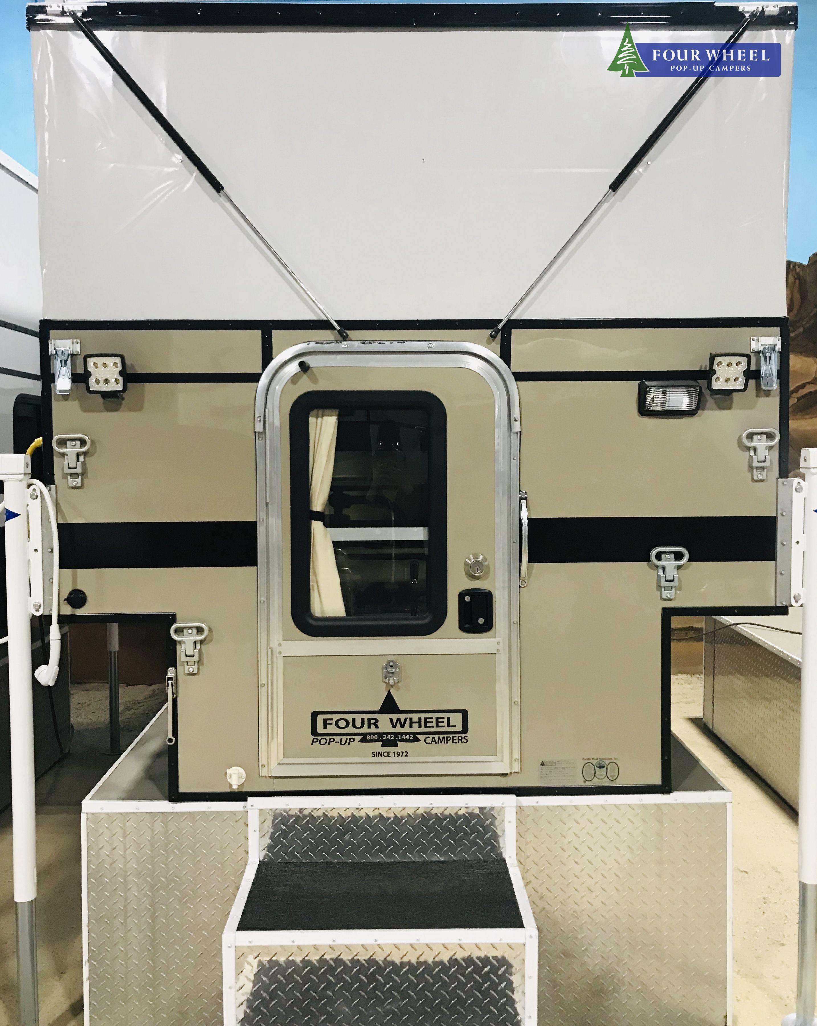 New Smooth Khaki Camper Khaki Fwc Fourwheelpopupcamper