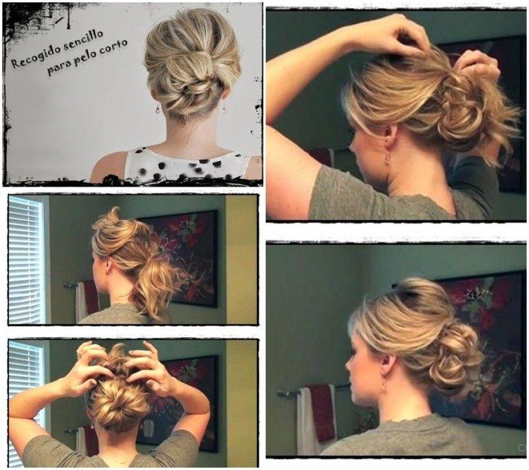 10 peinados para pelo corto fáciles y preciosos – Soy Moda  – Peinados