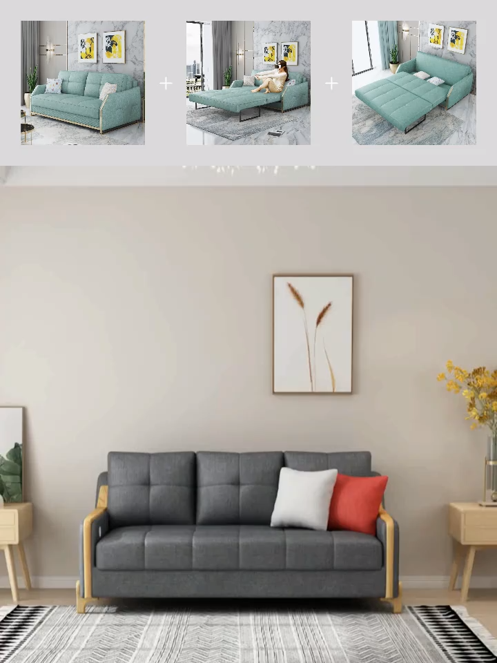 Modern Small Compact Sleeping Sofa Bed Bed Compact Modern Sleeping Small Sofa In 2020 Sofa Bed For Small Spaces Sofa Bed Design Bed Furniture Design #sleeping #in #the #living #room #ideas