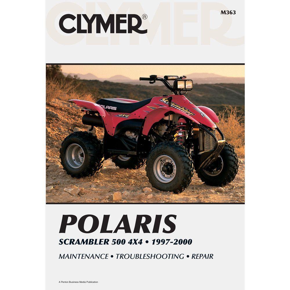 Clymer Polaris Scrambler 500 4x4 1997 2000 Clymer Scrambler