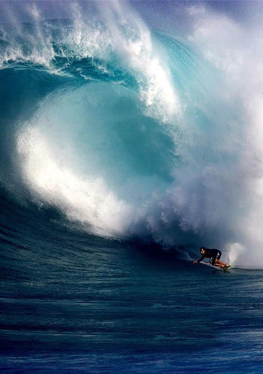 Jaws, Peahi Hawaii.