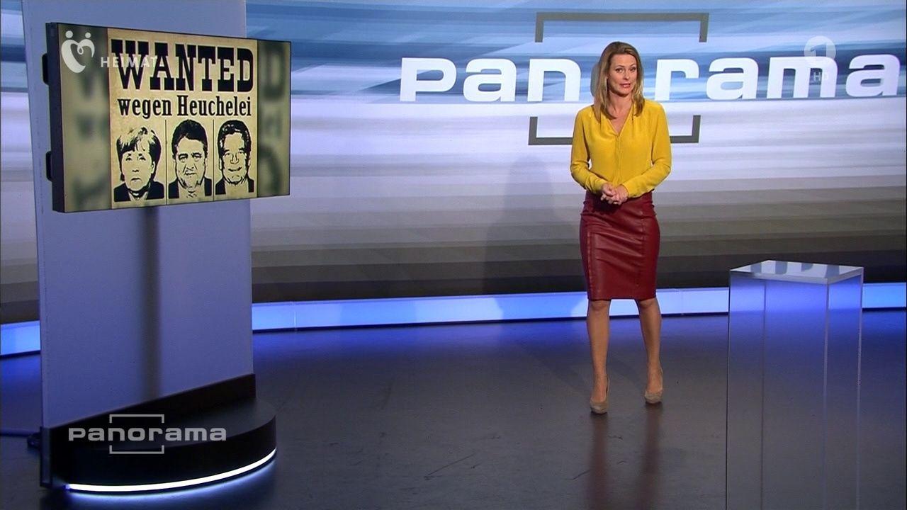 Anja Reschke Panorama Am 08 10 2015 Bilder Papa Pauls Tv