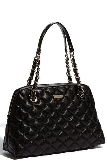 473f0964f3 Kate Spade  gold coast - georgina  quilted metallic shopper ...