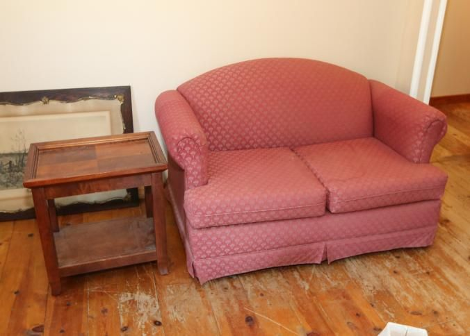 Furniture incl two cushion loveseat 59\