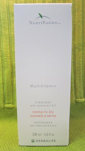 HERBALIFE NOURIFUSION CLEANSER NORMAL TO DRY 6 8 FL OZ Free