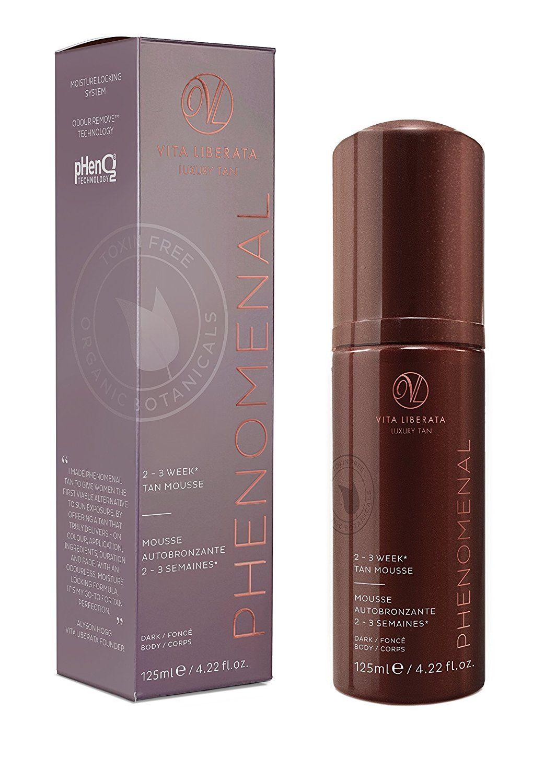 Vita Liberata Phenomenal 2 3 Week Tinted Self Tan Mousse Dark