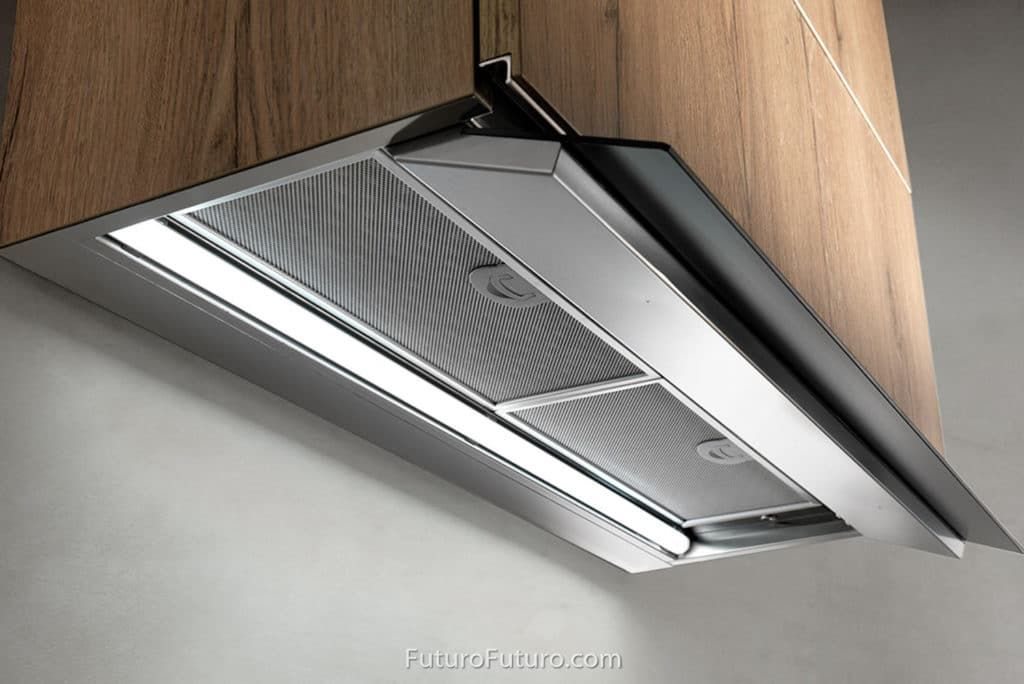 36 Decorsa Insert Designed For Modern Clean Kitchen Designs The Decorsa In Cabinet Undercabinet Range Hood From Futuro Futuro Offers A S 제품 디자인 디자인 제품