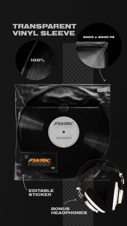 Retro Vinyl Record Mockup In 2020 Graphic Design Cover Art Design Graphic Design Resources