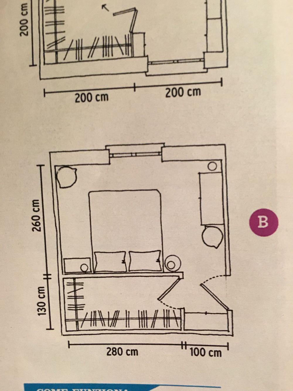 Cabina armadio progetto nel 2019 | Stanza da letto, Cabina ...