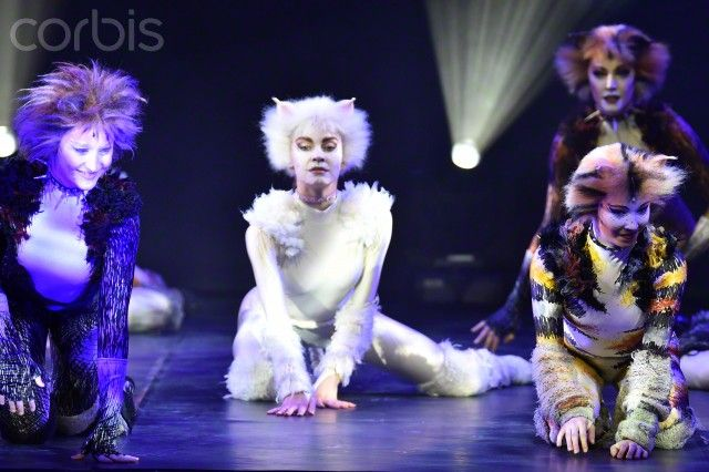 Cats Musical Press Presentation In Paris France Cats Musical Musicals Broadway History