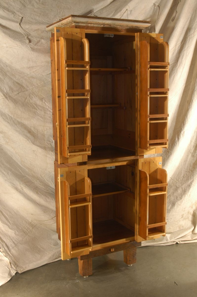 Salvaged Fir Pantry (With images) | Kitchen pantry cabinet ...