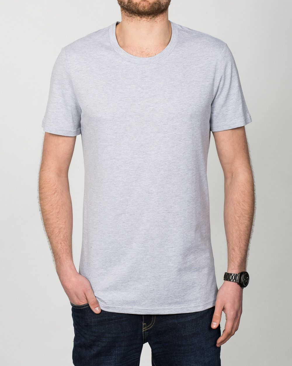 b598261ff753 2t Tall T-Shirt (heather grey) | Extra Long Tall Mens Clothing | Suits |  Tall Mens Jeans | Shirts | Size 13-18 Shoes #tallmen #fashion