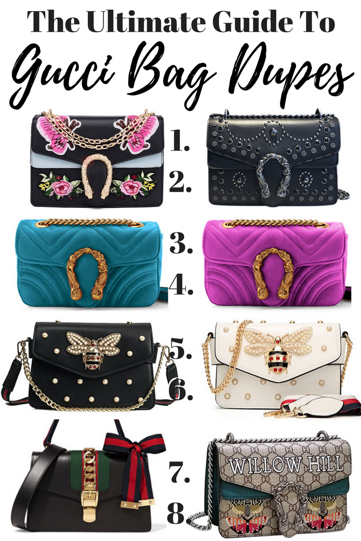 8404b2f6ce The Best Gucci Bag Dupes - The Only Guide You Will Need ...