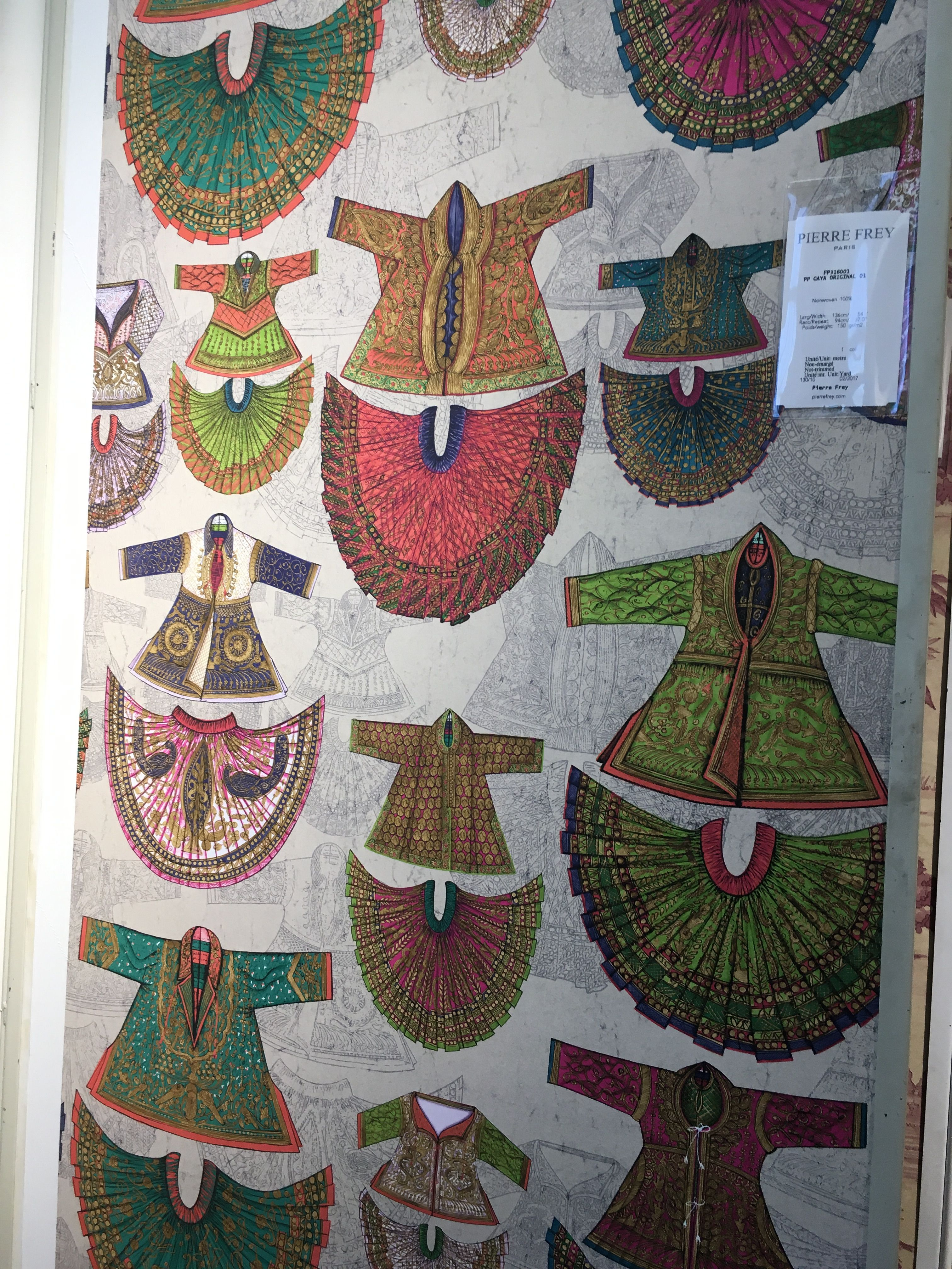 Gaya Original wallpaper FP316001 by Pierre Frey