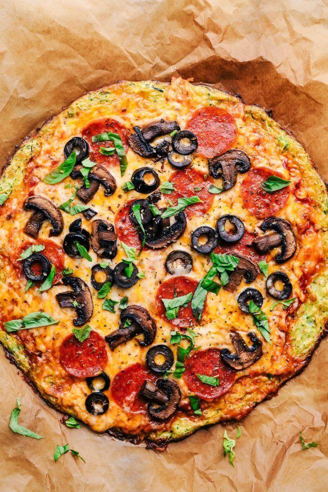 Best Ever Zucchini Crust Pizza | The Recipe Critic
