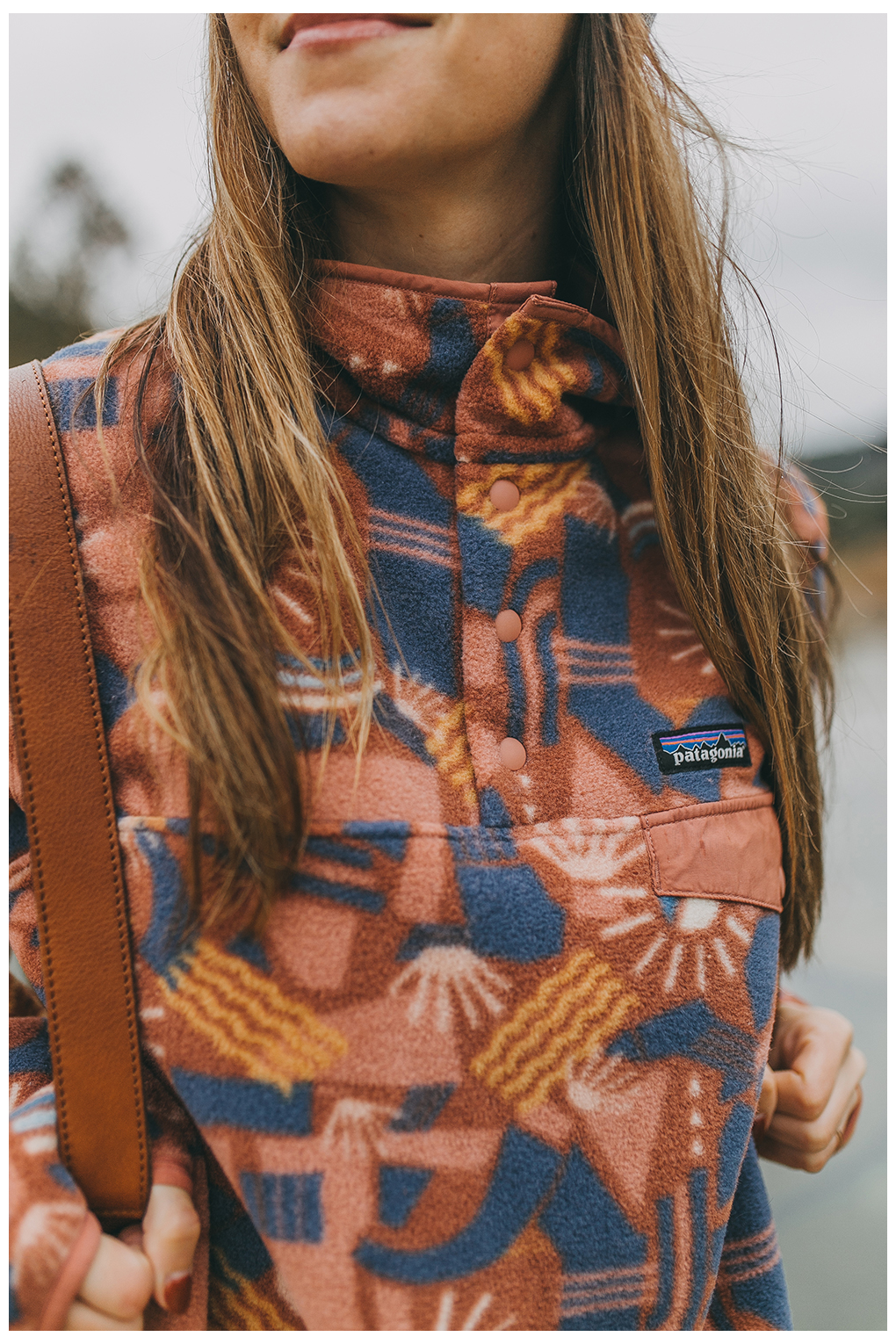 patagonia fleece pullover outfit